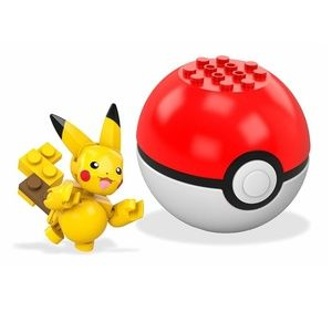 Mega Construx - Pokemon - Pikachu - Buildable Set